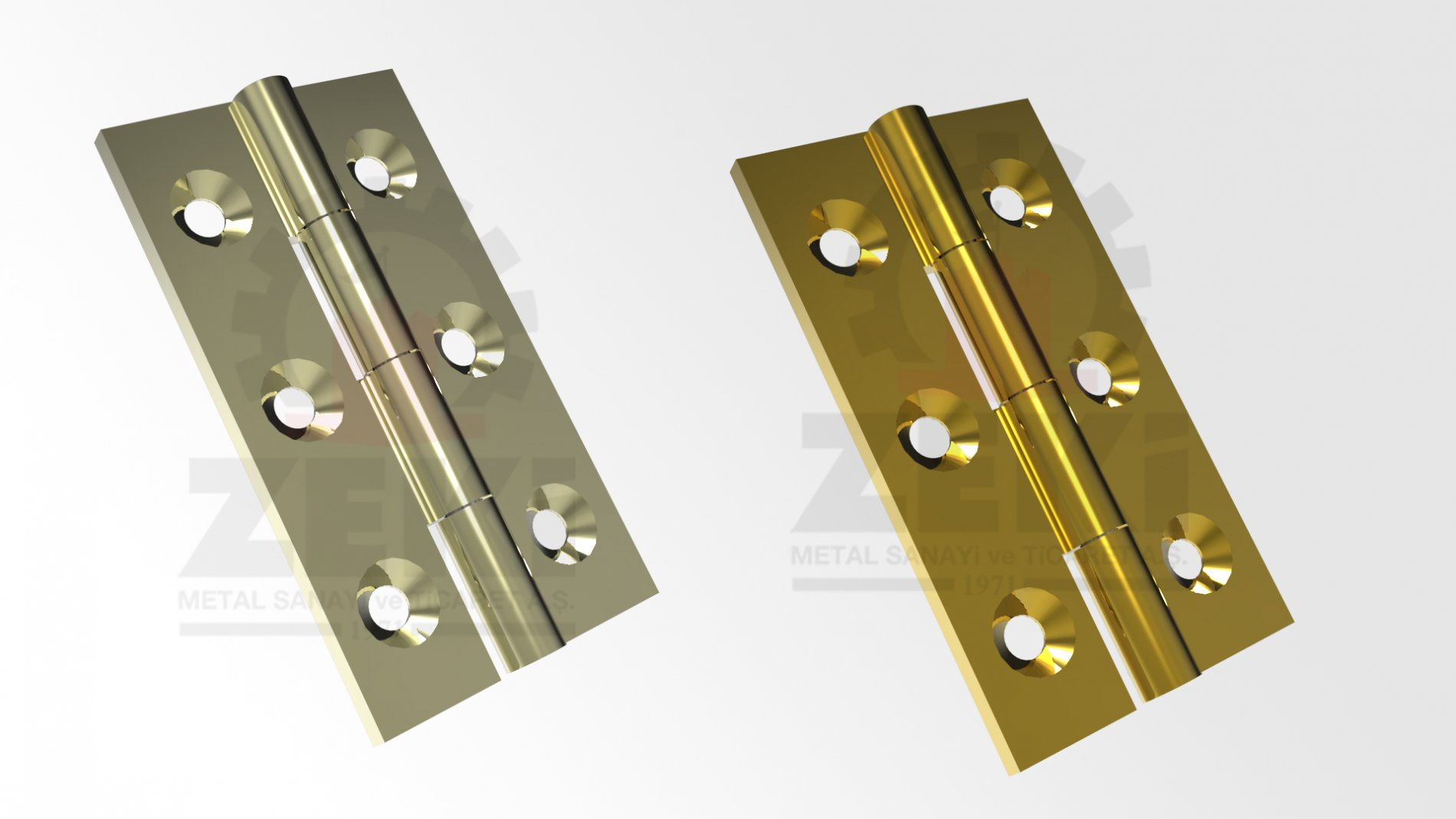 BRASS HINGE 6CM (narrow)